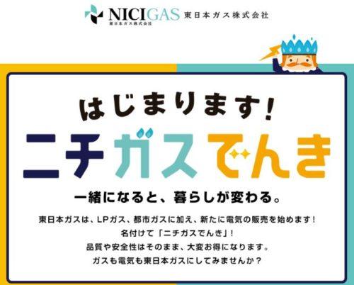 東日本ガスの電気