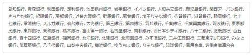富士産業の支払い対応金融機関