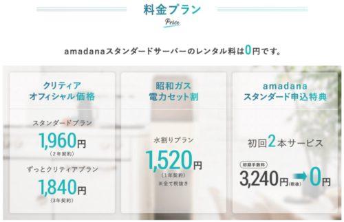 昭和ガスウォーターサーバーの料金プラン